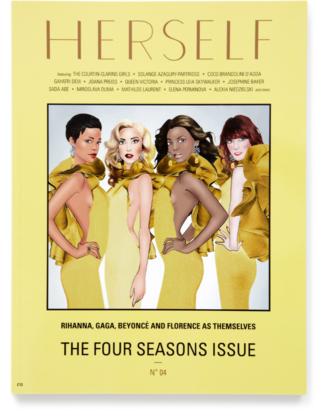 THE FOUR SEASONS ISSUE — <BR />SPRING SUMMER 2013 — Nº 04