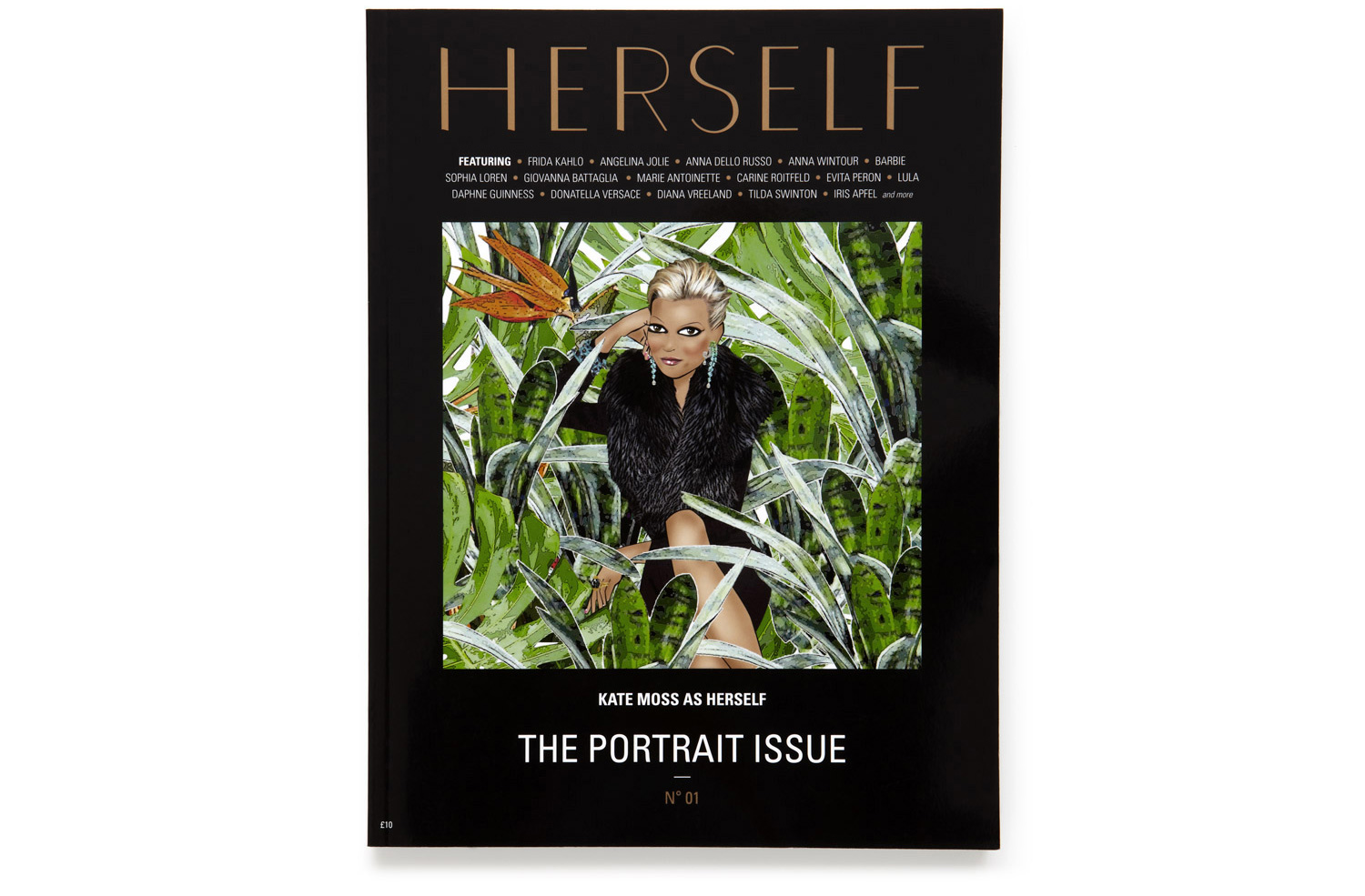 THE PORTRAIT ISSUE — <BR />AUTUMN WINTER 2011 — N° 01
