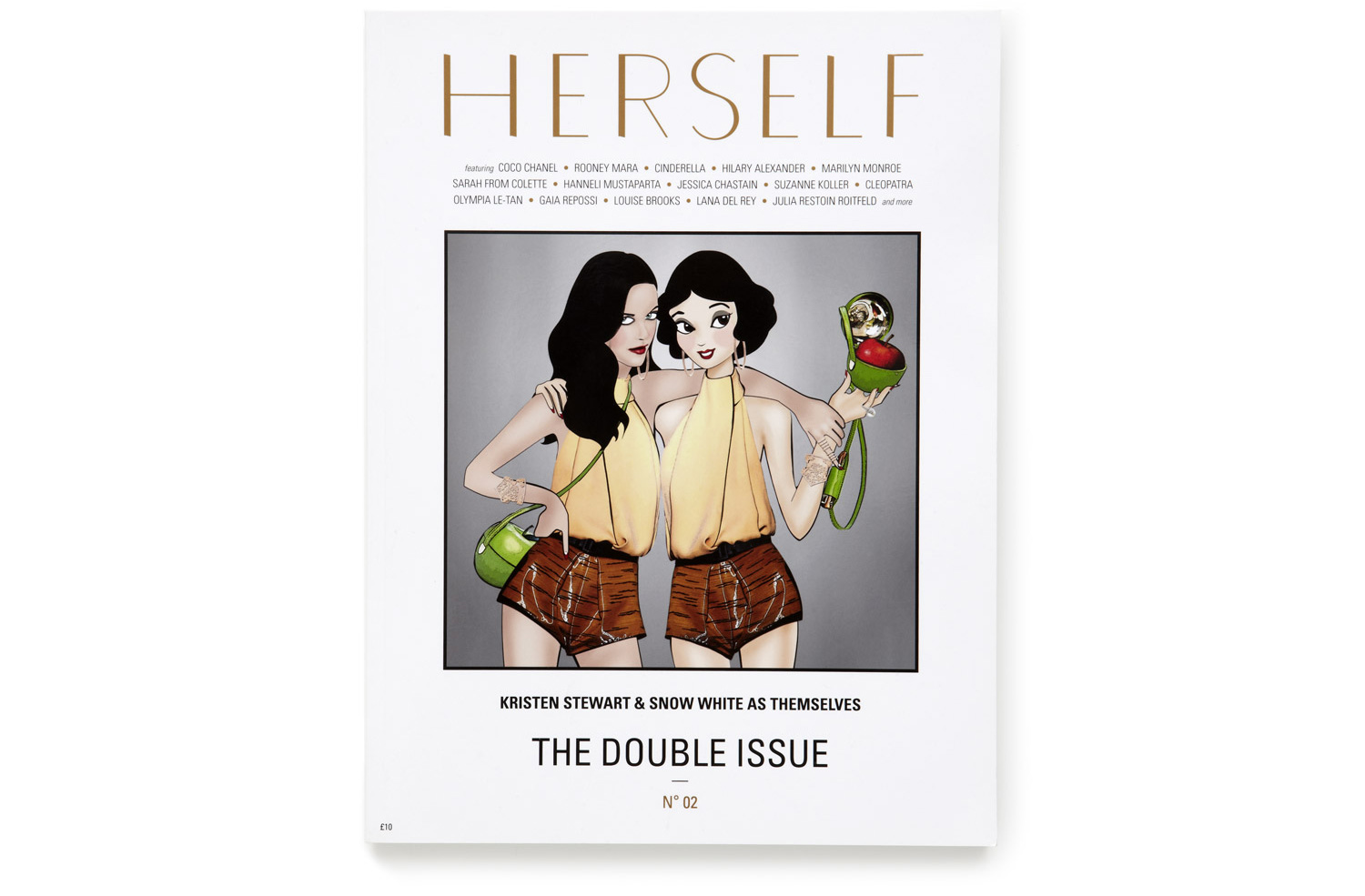THE DOUBLE ISSUE — <BR />SPRING SUMMER 2012 — N° 02